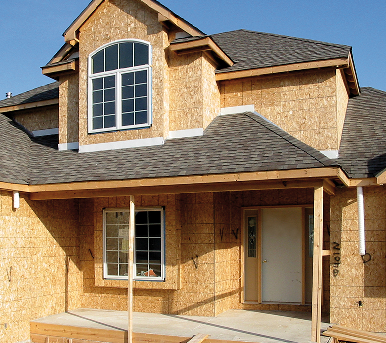 Kearney lumber builders for Exterior wall sheathing types