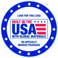 Built In The USA With Global Materials