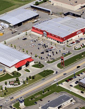 Builders Kearney Aerial View